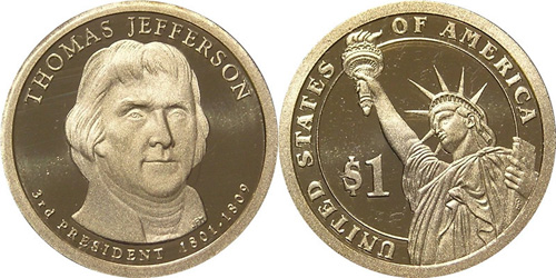 2007 Jefferson Dollar